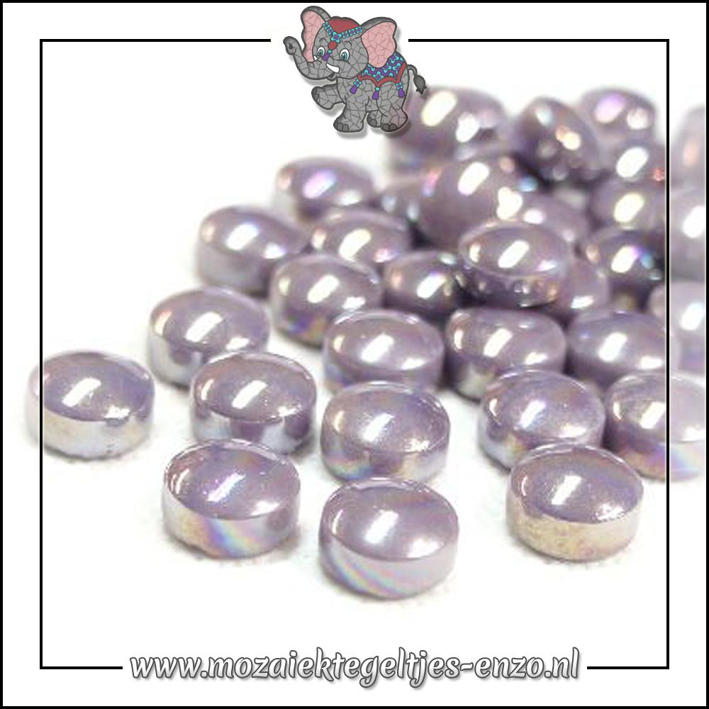 Glasdruppels Parelmoer | 12mm | Enkele Kleuren | 50 gram |Lilac