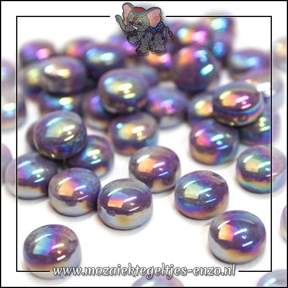 Glasdruppels Parelmoer   12mm   Enkele Kleuren   50 gram  Deep Purple