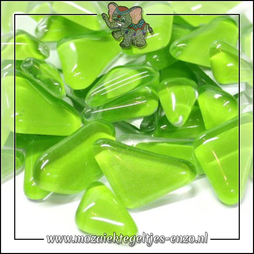 Soft Glas Puzzelstukjes Normaal | Enkele Kleuren | 50 gram |Key Lime Pie