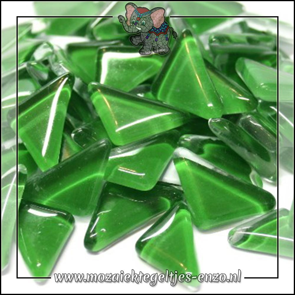 Soft Glas Puzzelstukjes Normaal | Enkele Kleuren | 50 gram |Irish Green