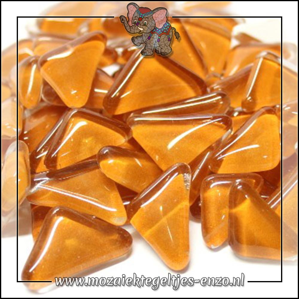 Soft Glas Puzzelstukjes Normaal | Enkele Kleuren | 50 gram |Creme Caramel