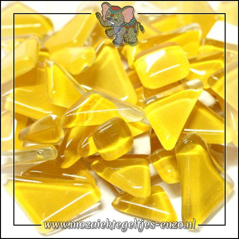 Soft Glas Puzzelstukjes Normaal   Enkele Kleuren   50 gram  Corn Syrup