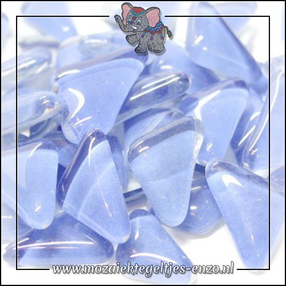 Soft Glas Puzzelstukjes Normaal | Enkele Kleuren | 50 gram |Baby Blue