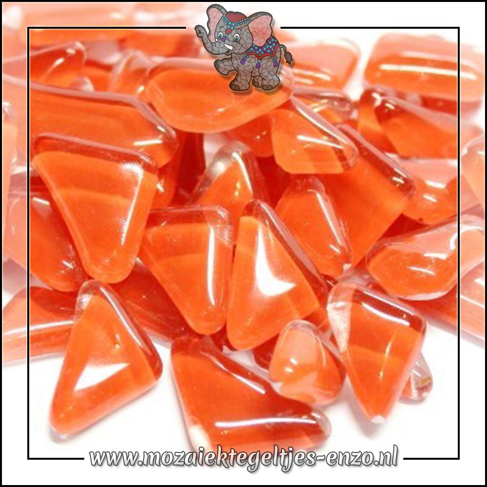 Soft Glas Puzzelstukjes Normaal | Enkele Kleuren | 50 gram |Carmine Red