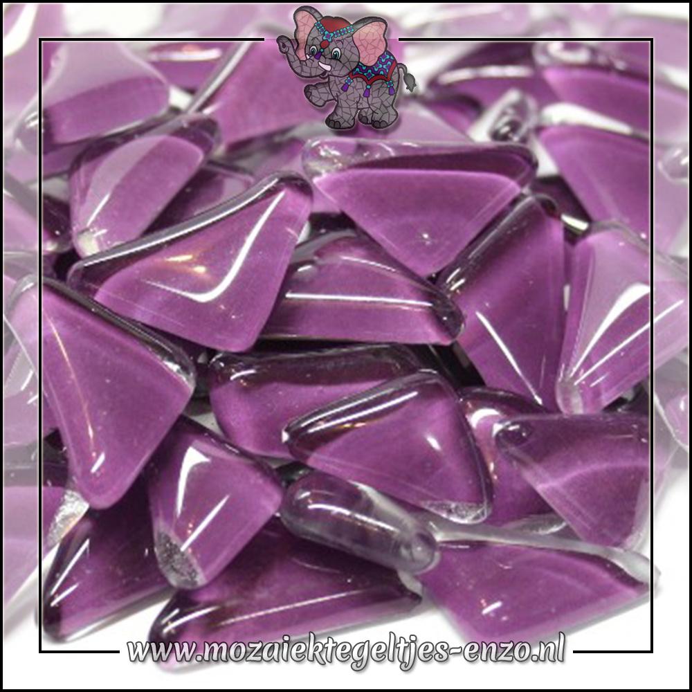 Soft Glas Puzzelstukjes Normaal   Enkele Kleuren   50 gram  Grape
