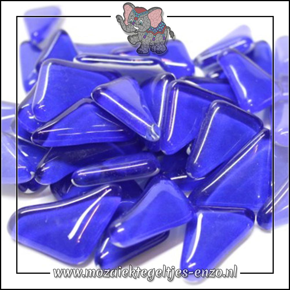 Soft Glas Puzzelstukjes Normaal | Enkele Kleuren | 50 gram |Cobalt Stone