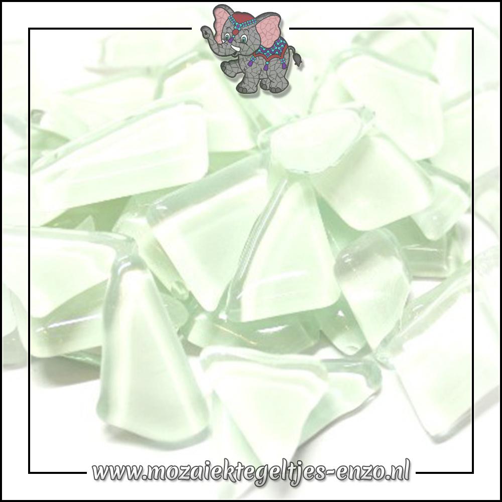 Soft Glas Puzzelstukjes Normaal | Enkele Kleuren | 50 gram |White