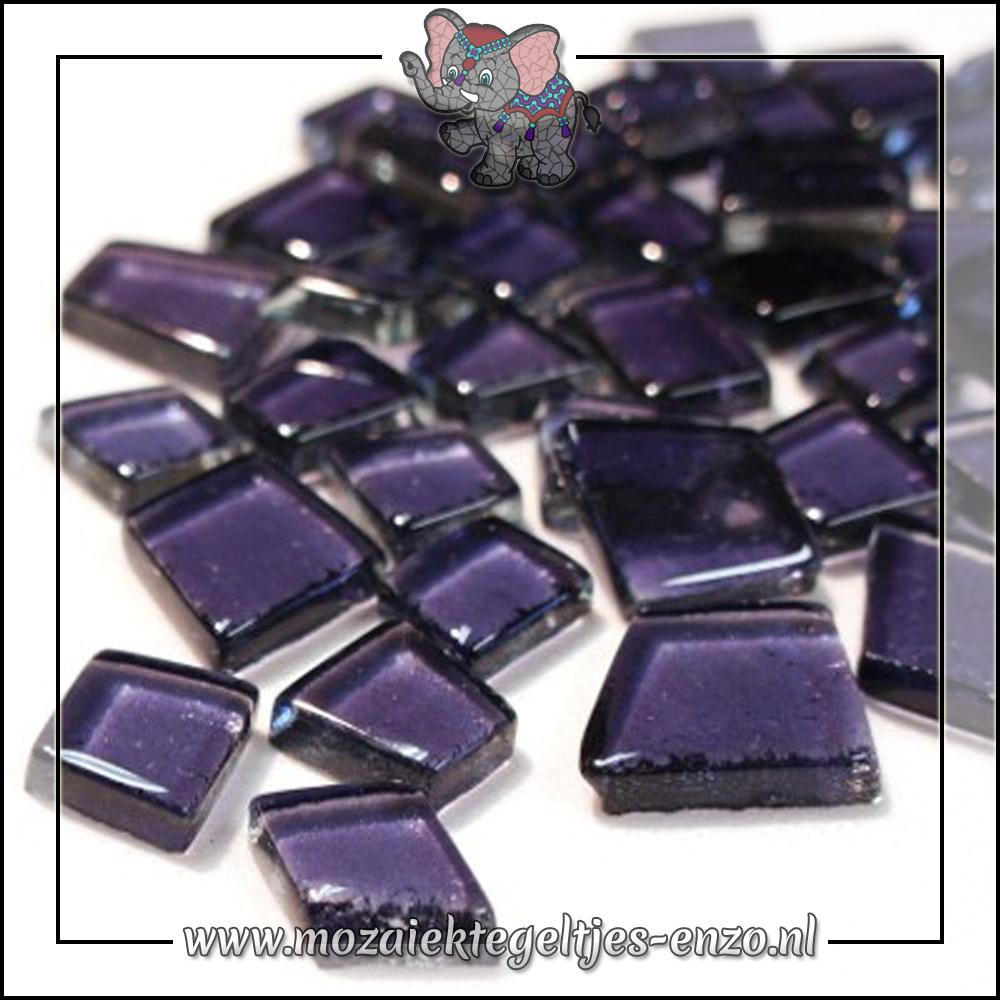 Transparante Glas Puzzelstukjes Normaal | Enkele Kleuren | 50 gram |Hardcore Ultraviolet