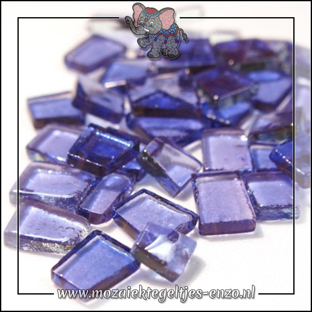 Transparante Glas Puzzelstukjes Normaal   Enkele Kleuren   50 gram  Ambient Lavender