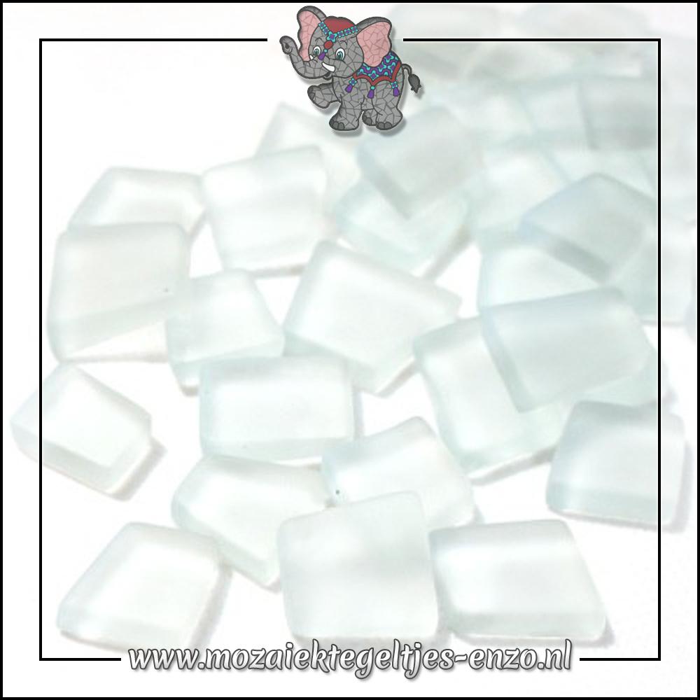 Transparante Glas Puzzelstukjes Normaal   Enkele Kleuren   50 gram  A Capella Clear