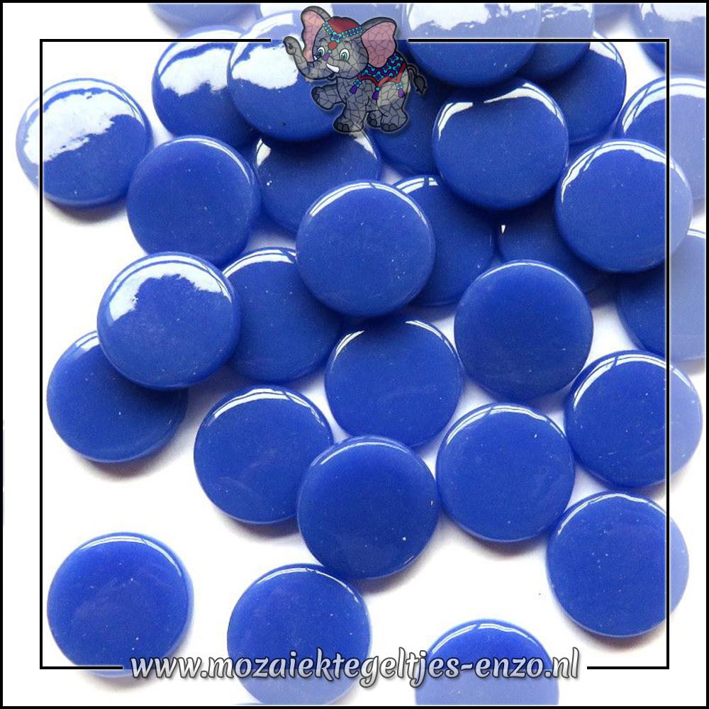 Glasdruppels Normaal | 18mm | Enkele Kleuren | 50 gram | Warm Blue
