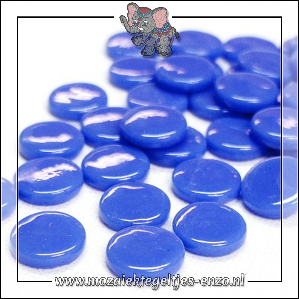 Glasdruppels Normaal | 18mm | Enkele Kleuren | 50 gram | True Blue