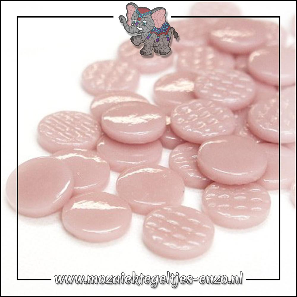 Glasdruppels Normaal | 18mm | Enkele Kleuren | 50 gram | Rose Petal