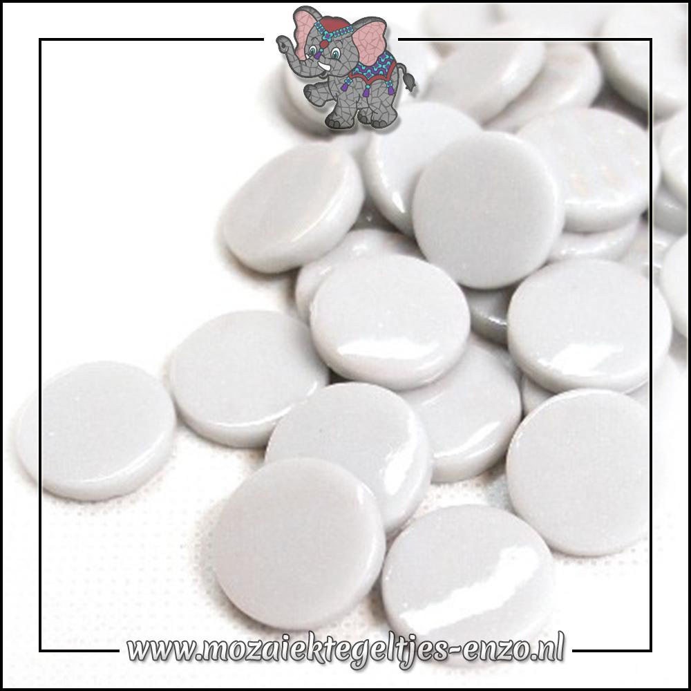 Glasdruppels Normaal | 18mm | Enkele Kleuren | 50 gram | Pale Grey