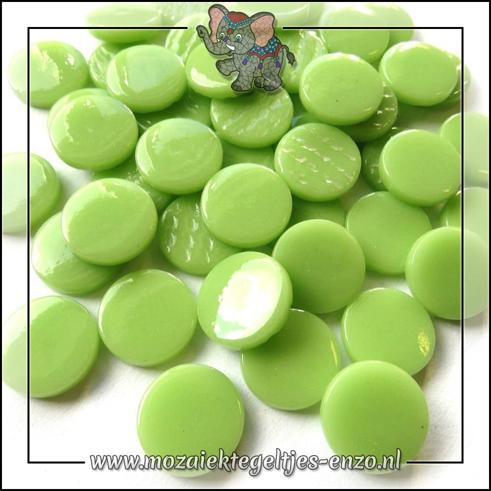 Glasdruppels Normaal | 18mm | Enkele Kleuren | 50 gram | Mint Green