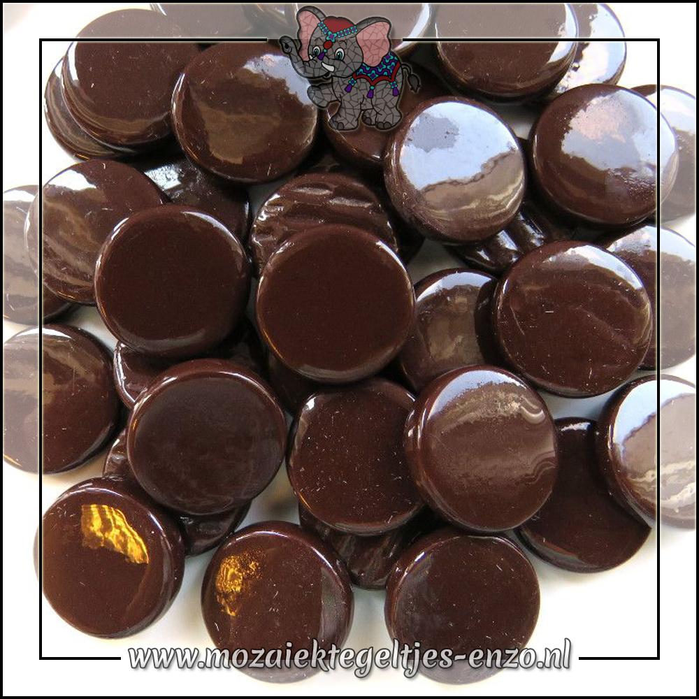 Glasdruppels Normaal | 18mm | Enkele Kleuren | 50 gram | Merbau