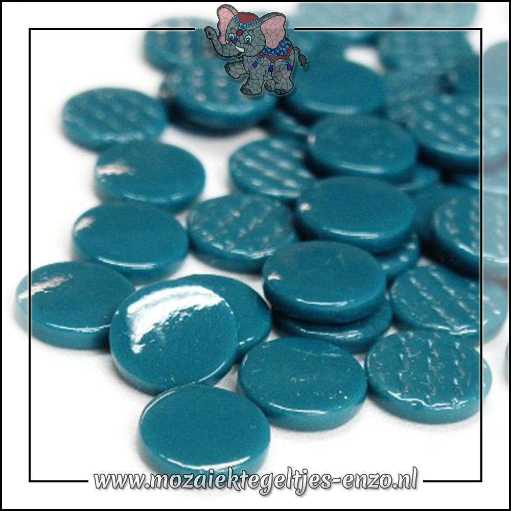 Glasdruppels Normaal   18mm   Enkele Kleuren   50 gram   Deep Teal