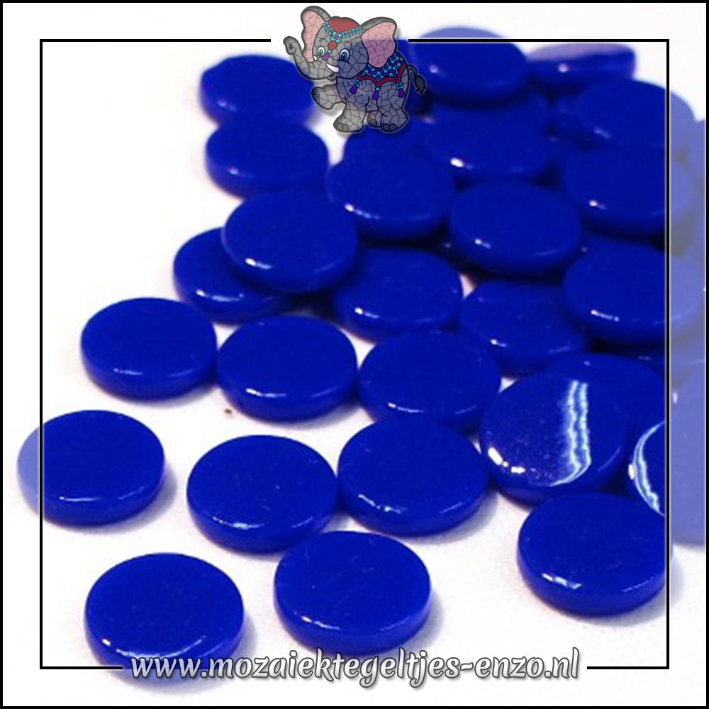 Glasdruppels Normaal   18mm   Enkele Kleuren   50 gram   Brilliant Blue