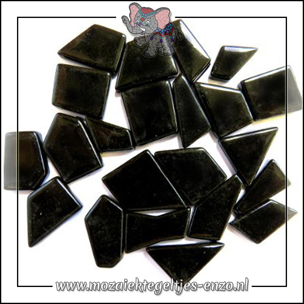 Snippets Puzzelstukjes Normaal   Enkele Kleuren   50 gram  Opal Black