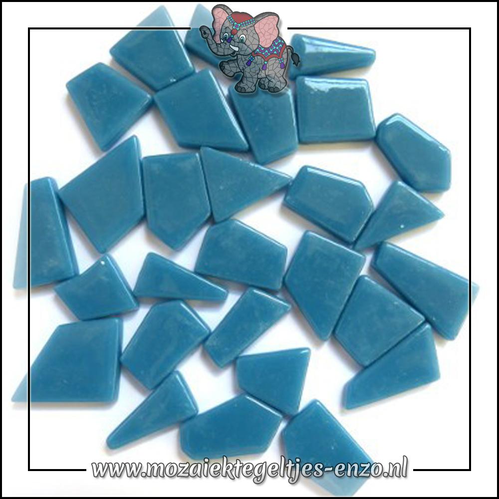 Snippets Puzzelstukjes Normaal | Enkele Kleuren | 50 gram |Lake Blue