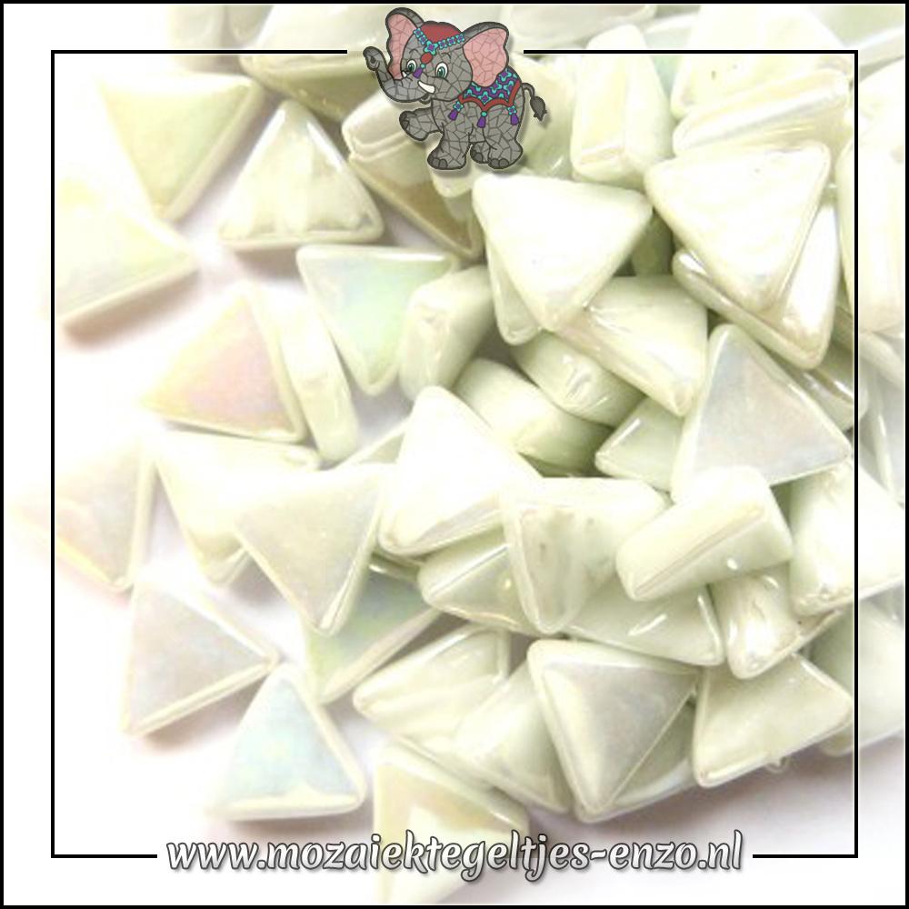 Art Angles Parelmoer   10mm   Enkele Kleuren   50 gram  Opal White
