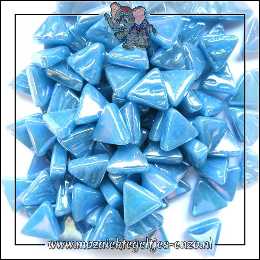 Art Angles Parelmoer   10mm   Enkele Kleuren   50 gram  Lake Blue