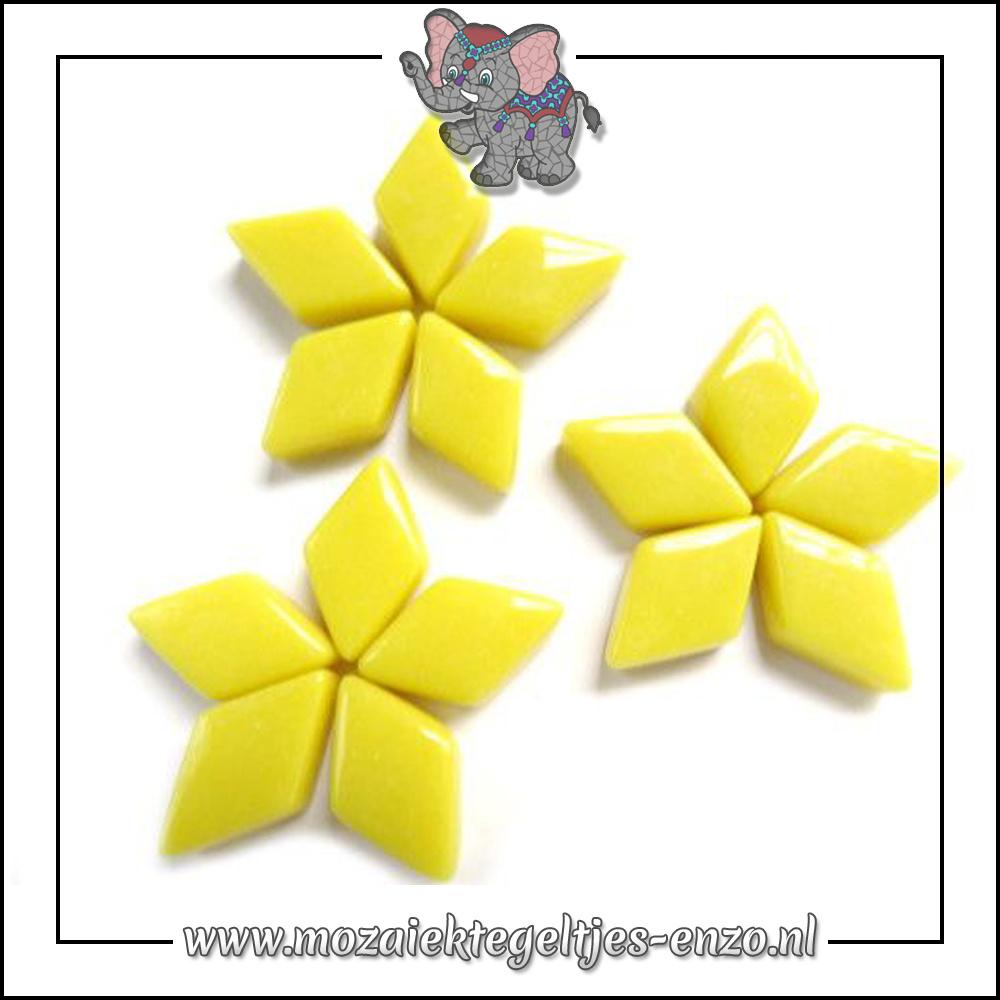 Diamonds Normaal | 12x19mm | Enkele Kleuren | 50 gram |Opal Yellow