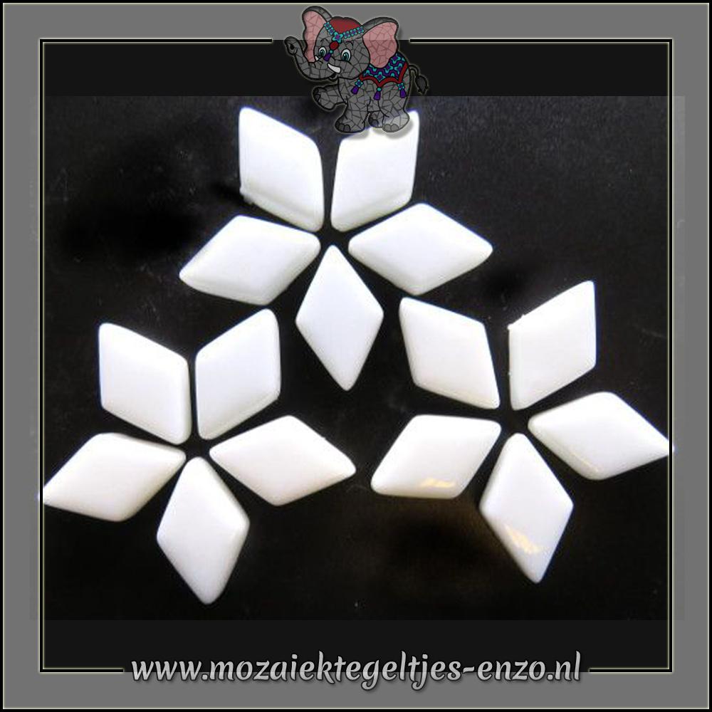 Diamonds Normaal | 12x19mm | Enkele Kleuren | 50 gram |Opal White