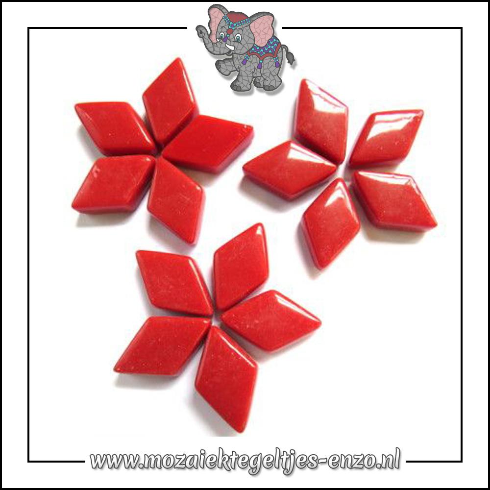 Diamonds Normaal | 12x19mm | Enkele Kleuren | 50 gram |Blood Red