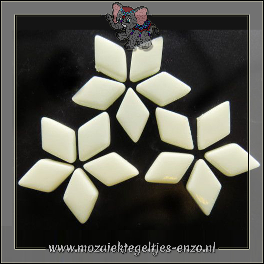 Diamonds Normaal | 12x19mm | Enkele Kleuren | 50 gram |Alabaster