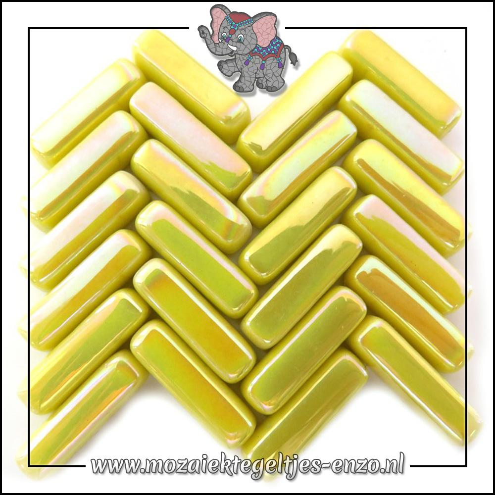 Stix Parelmoer | 6x20mm | Enkele Kleuren | 50 gram |Yellow