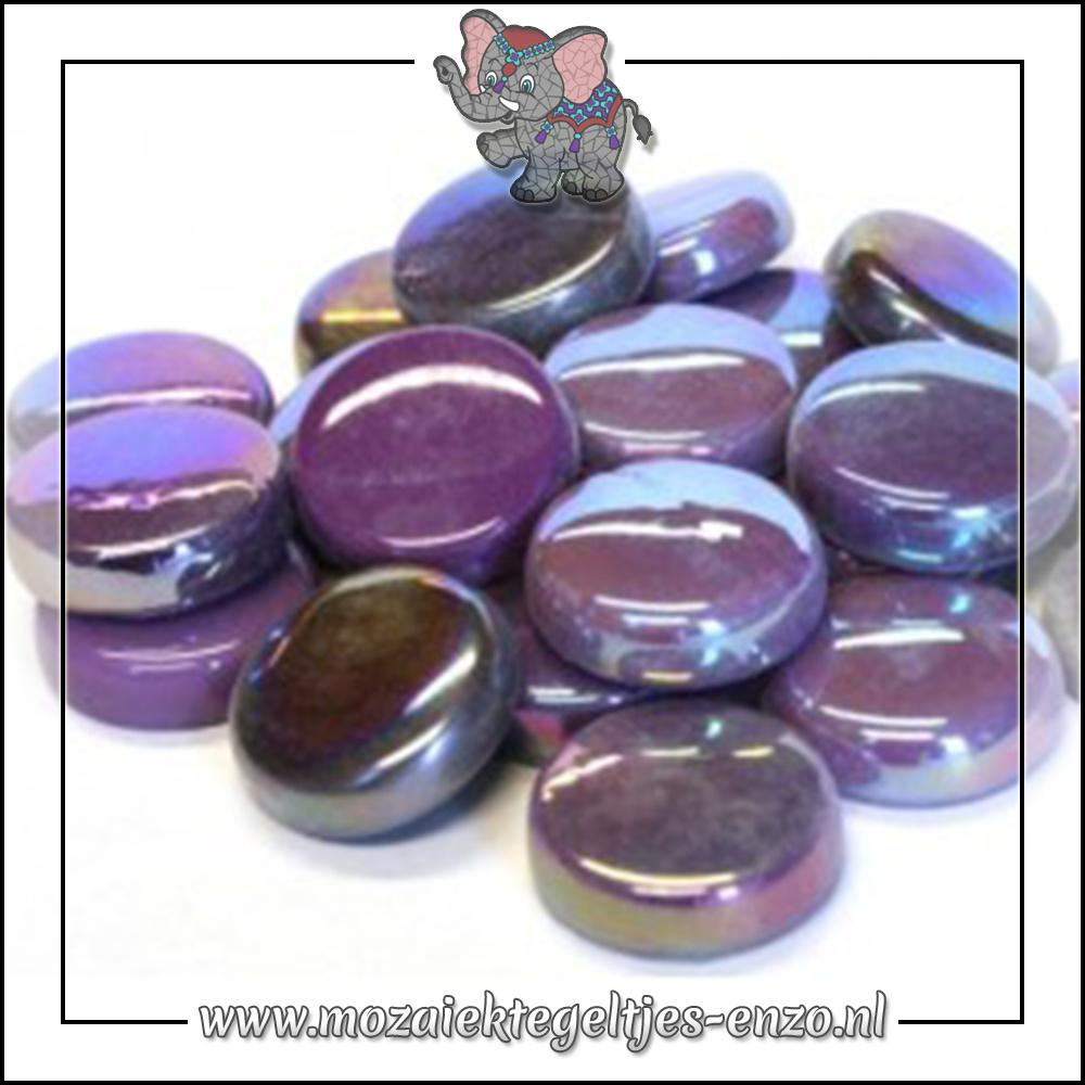 Glasdruppels Normaal-Parelmoer | 20mm | Gemixte Kleuren | 50 gram |Berry Satin