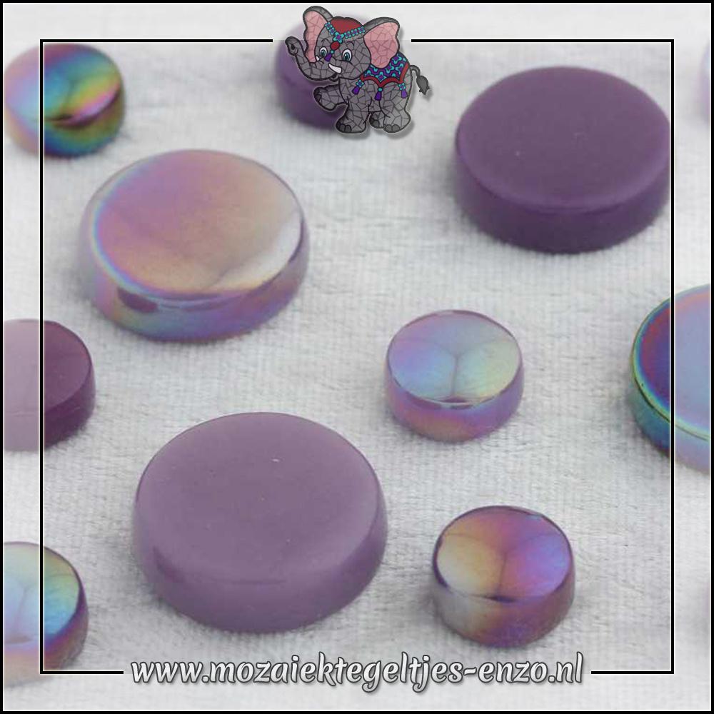 Glasdruppels Normaal-Parelmoer | 12-20mm | Gemixte Kleuren | 50 gram |Berry Satin