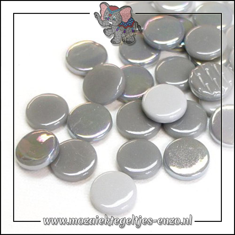 Glasdruppels Normaal-Parelmoer | 18mm | Gemixte Kleuren | 50 gram |Grey Goose