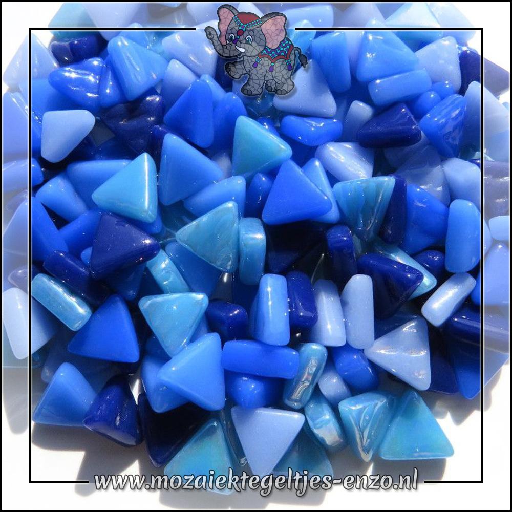 Art Angles Normaal-Parelmoer | 10mm | Gemixte Kleuren | 50 gram |Blue Skies