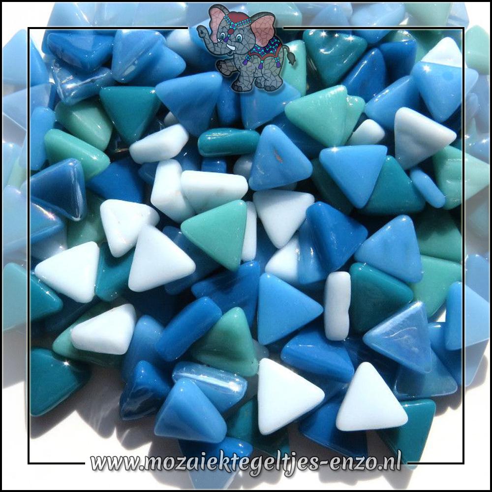 Art Angles Normaal-Parelmoer   10mm   Gemixte Kleuren   50 gram  Aquaeous