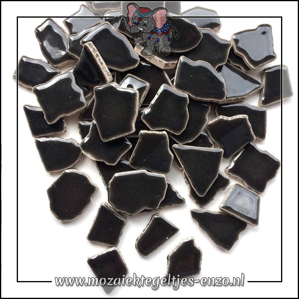 Keramiek Puzzelstukjes Normaal   Enkele Kleuren   50 gram  Charcoal