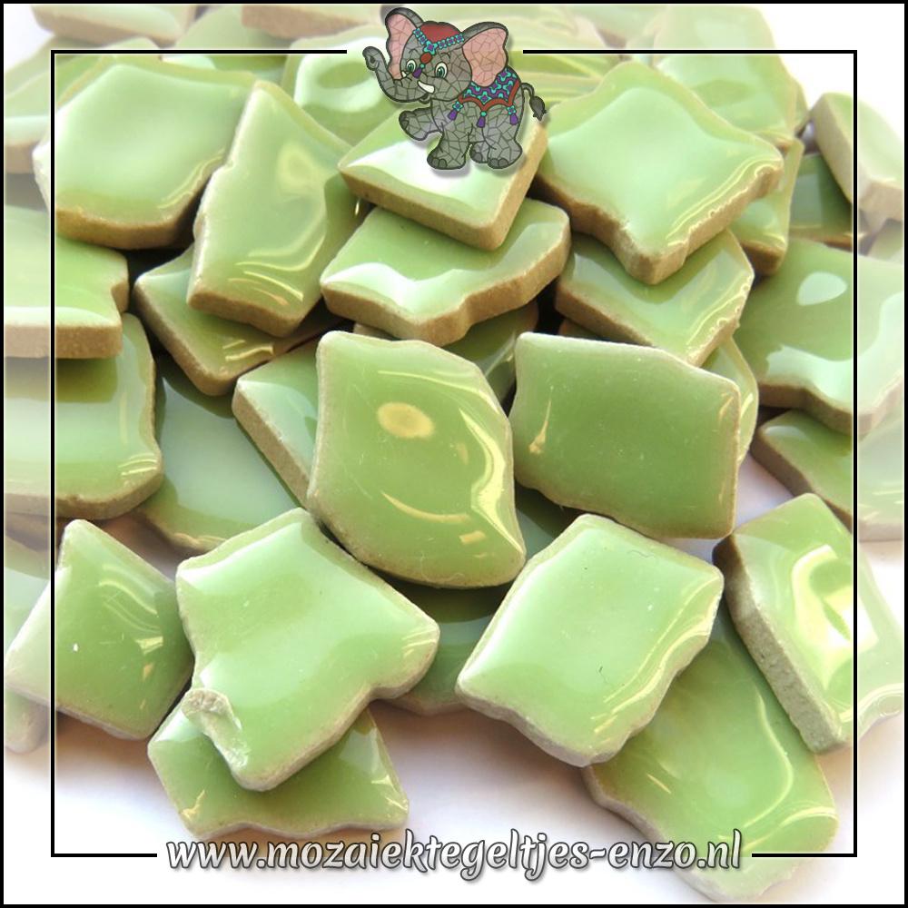 Keramiek Puzzelstukjes Normaal | Enkele Kleuren | 50 gram |Peppermint