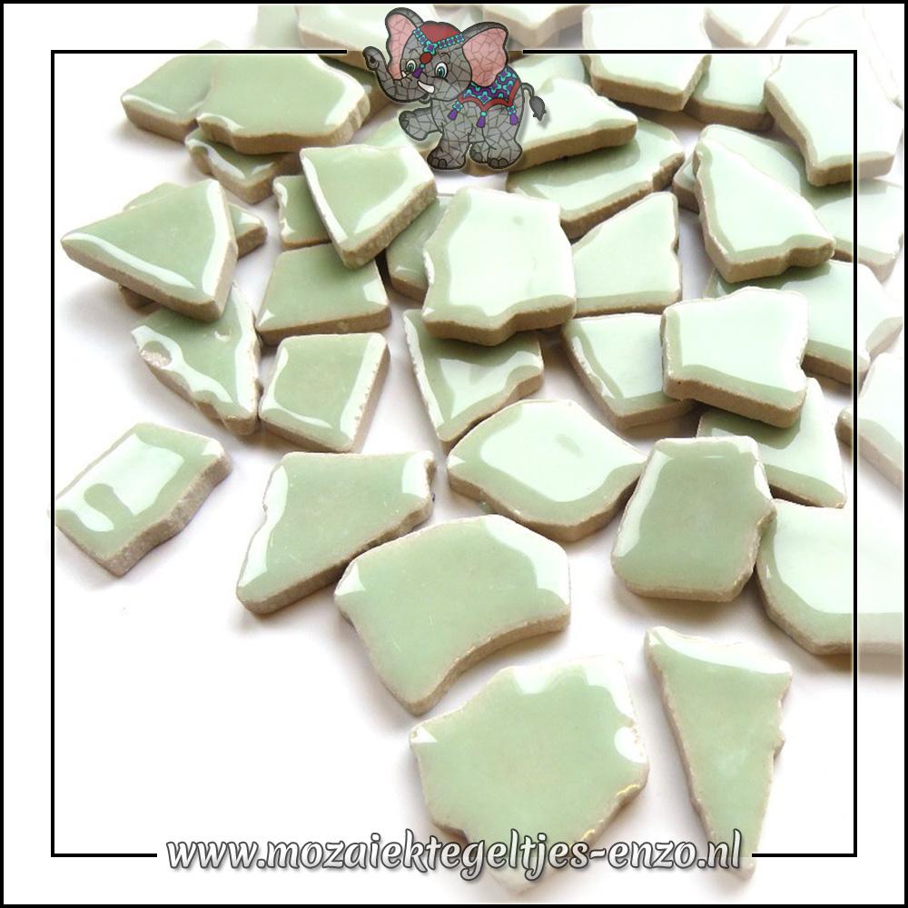 Keramiek Puzzelstukjes Normaal | Enkele Kleuren | 50 gram |Celadon