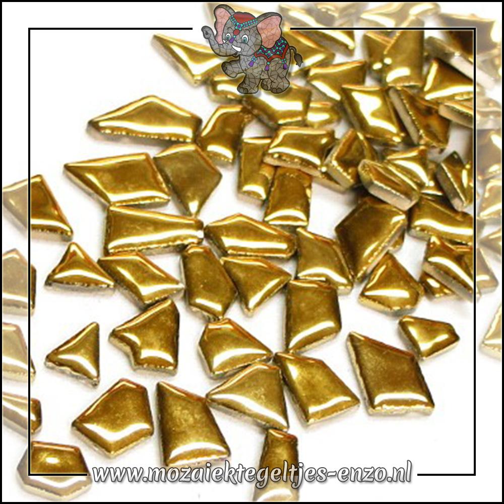 Keramiek Puzzelstukjes Normaal | Enkele Kleuren | 50 gram |Gold