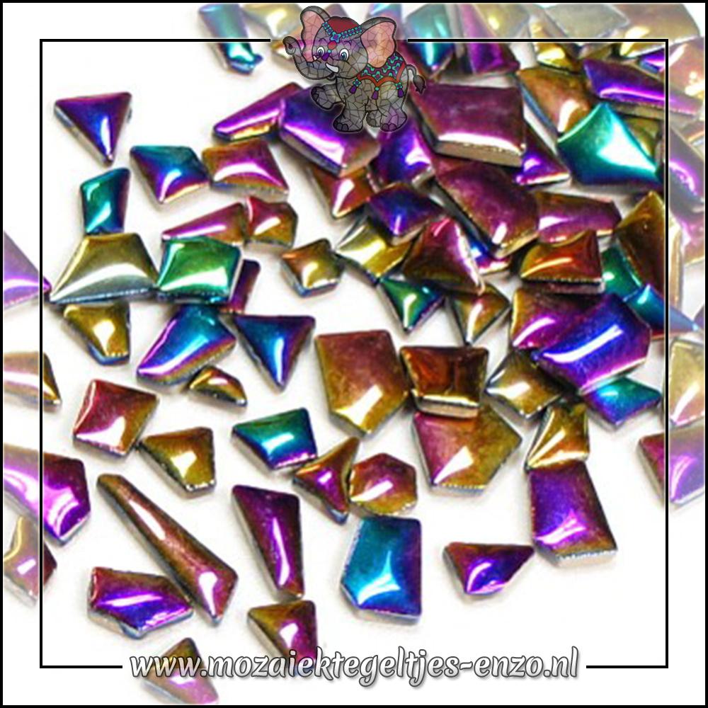 Keramiek Puzzelstukjes Normaal   Enkele Kleuren   50 gram  Disco Lights