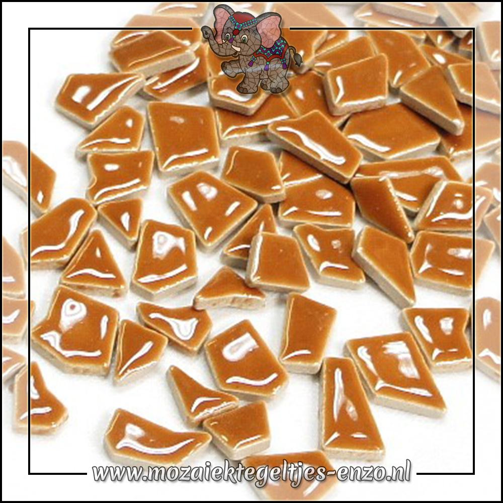 Keramiek Puzzelstukjes Normaal | Enkele Kleuren | 50 gram |Warm Sand