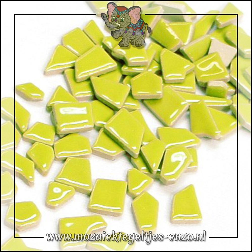 Keramiek Puzzelstukjes Normaal   Enkele Kleuren   50 gram  Kiwi