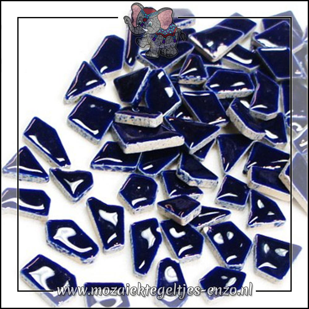 Keramiek Puzzelstukjes Normaal | Enkele Kleuren | 50 gram |Indigo