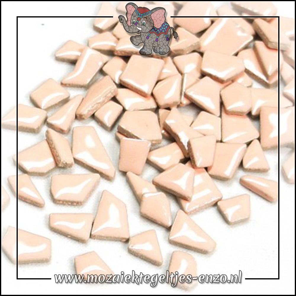 Keramiek Puzzelstukjes Normaal   Enkele Kleuren   50 gram  Fresh Peach