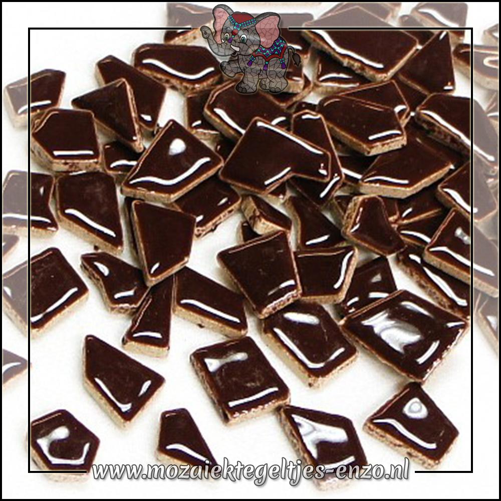 Keramiek Puzzelstukjes Normaal   Enkele Kleuren   50 gram  Burnt Umber