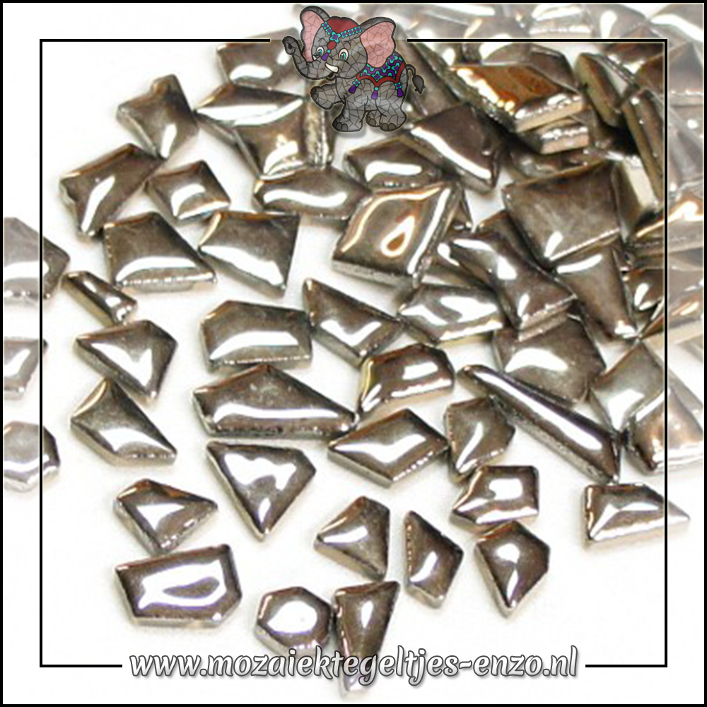 Keramiek Puzzelstukjes Normaal | Enkele Kleuren | 50 gram |Silver