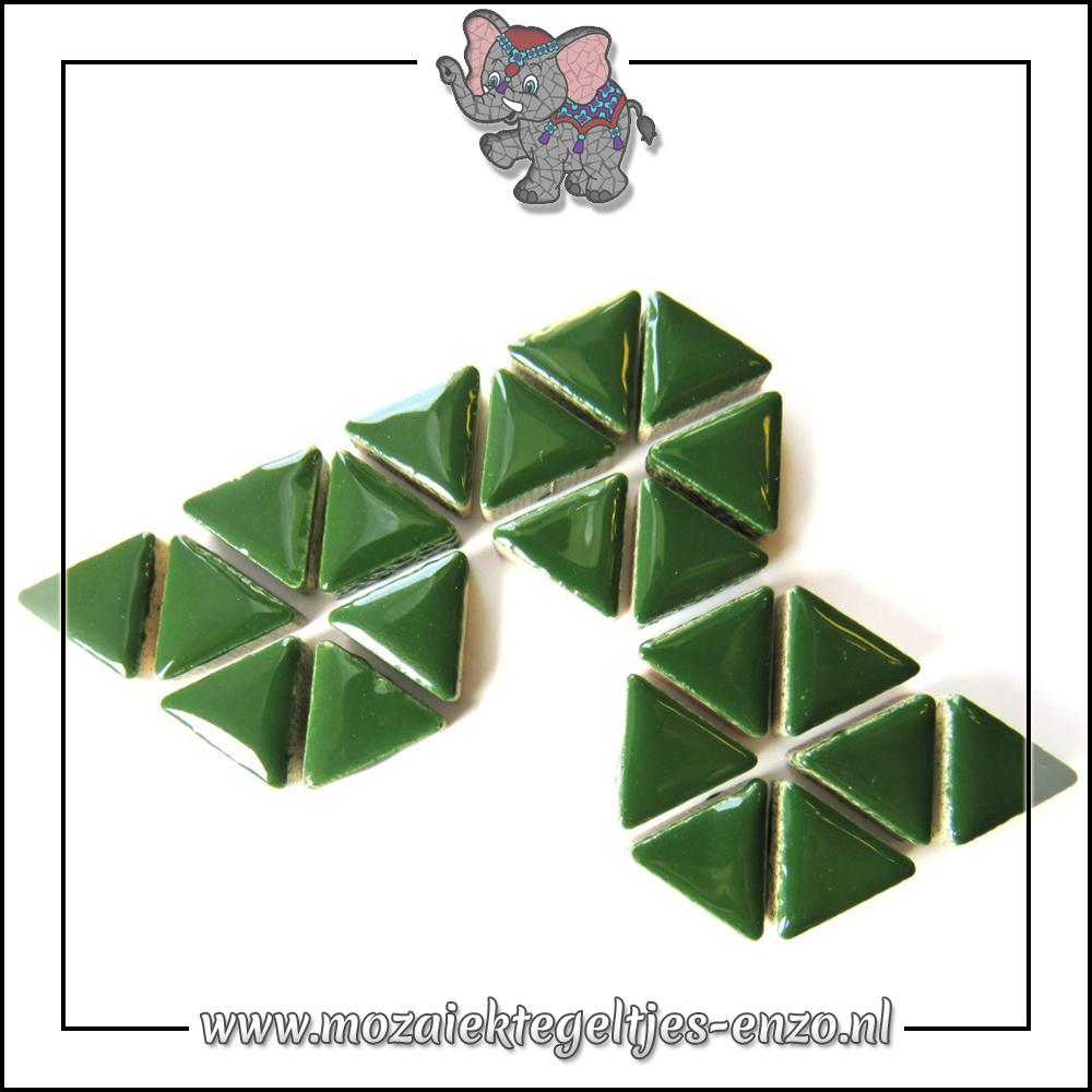 Keramiek Triangles Normaal   15mm   Enkele Kleuren   50 gram  Pesto