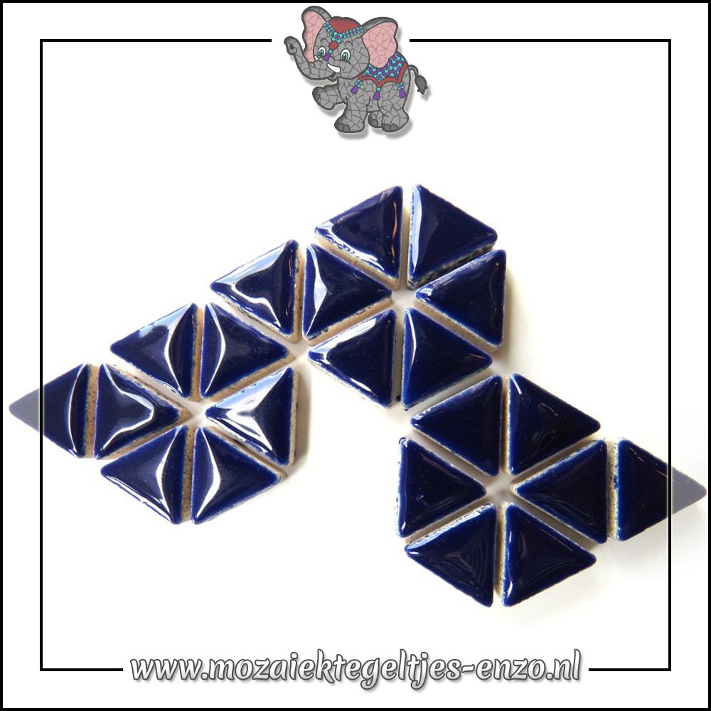 Keramiek Triangles Normaal | 15mm | Enkele Kleuren | 50 gram |Indigo