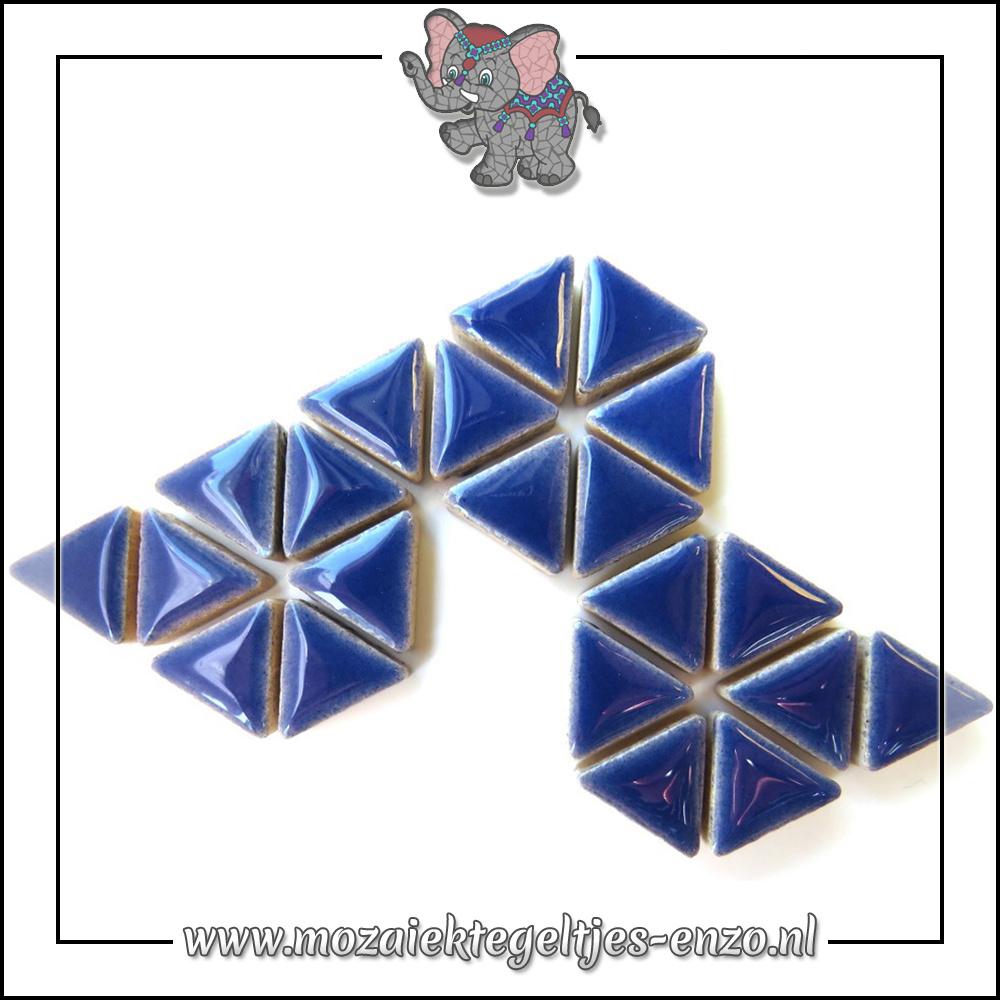 Keramiek Triangles Normaal | 15mm | Enkele Kleuren | 50 gram |Delphinium